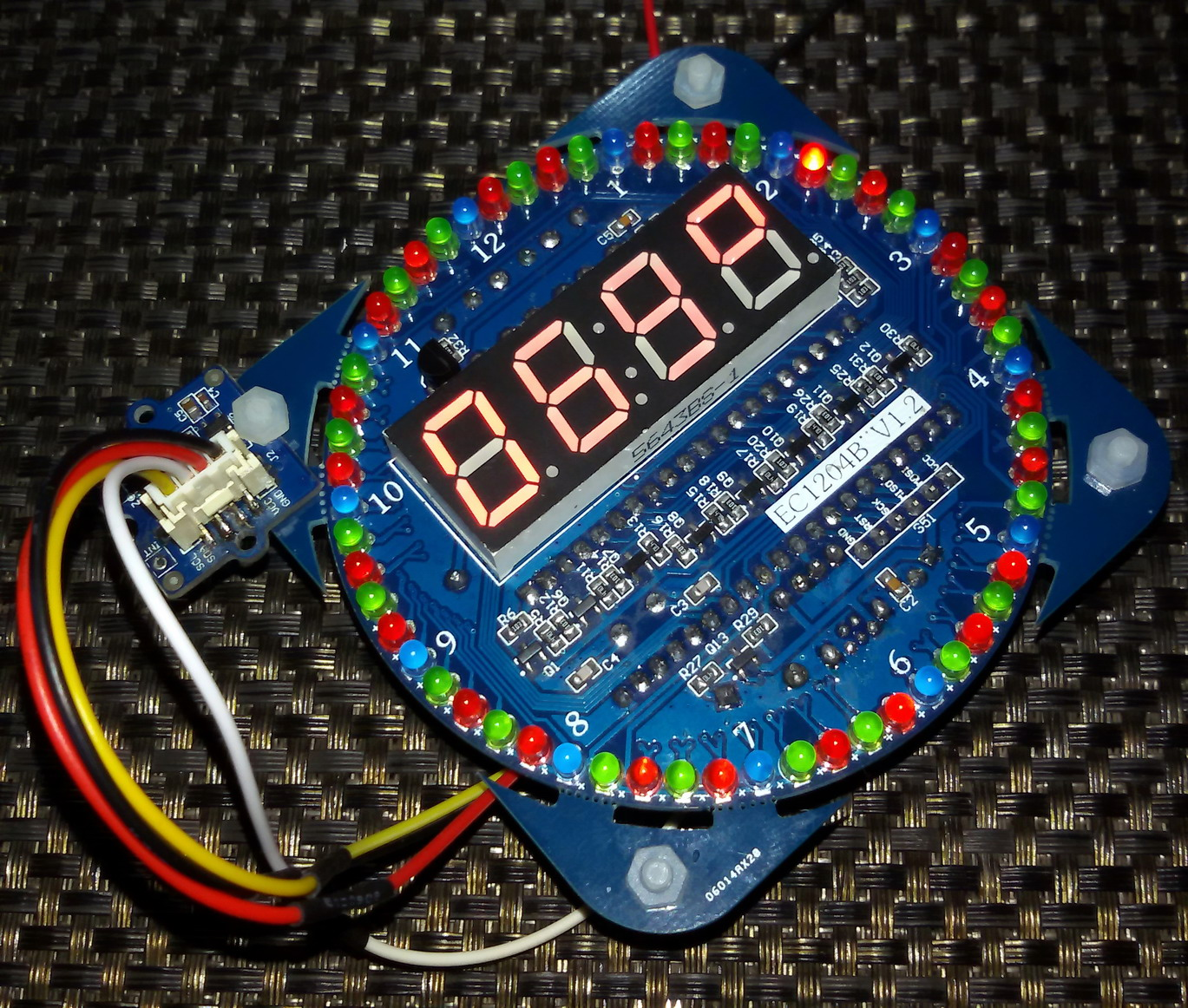 LibStock - HMC5883L Digital Compass with 7 Segment and LEDs