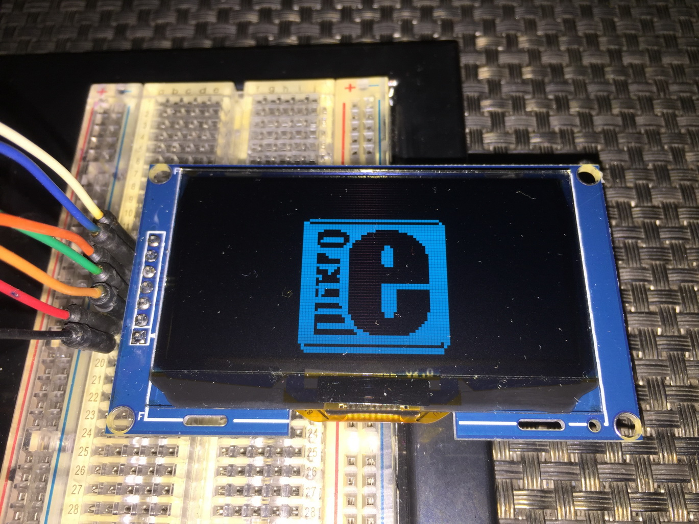 LibStock - SSD1309 OLED Library