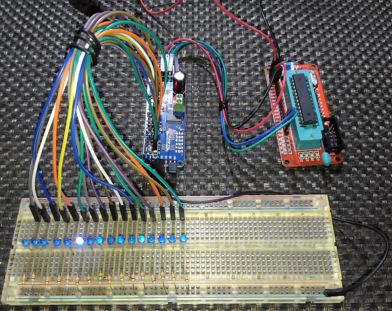 LibStock - PCA9685 16-Channel 12-bit PWM Controller Demo