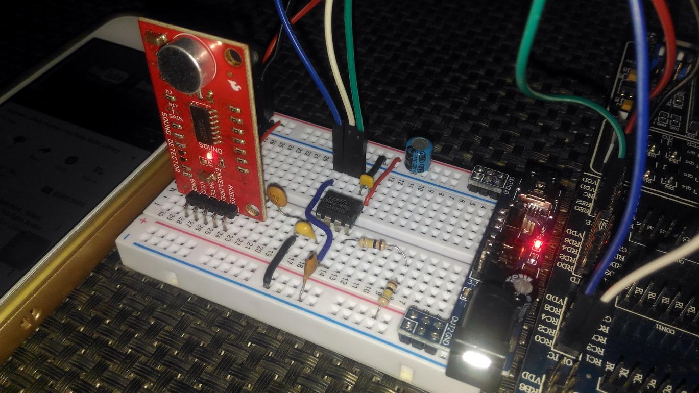 LibStock - GLCD MSGEQ7 Audalyzer (Audio Spectrum Analyzer)