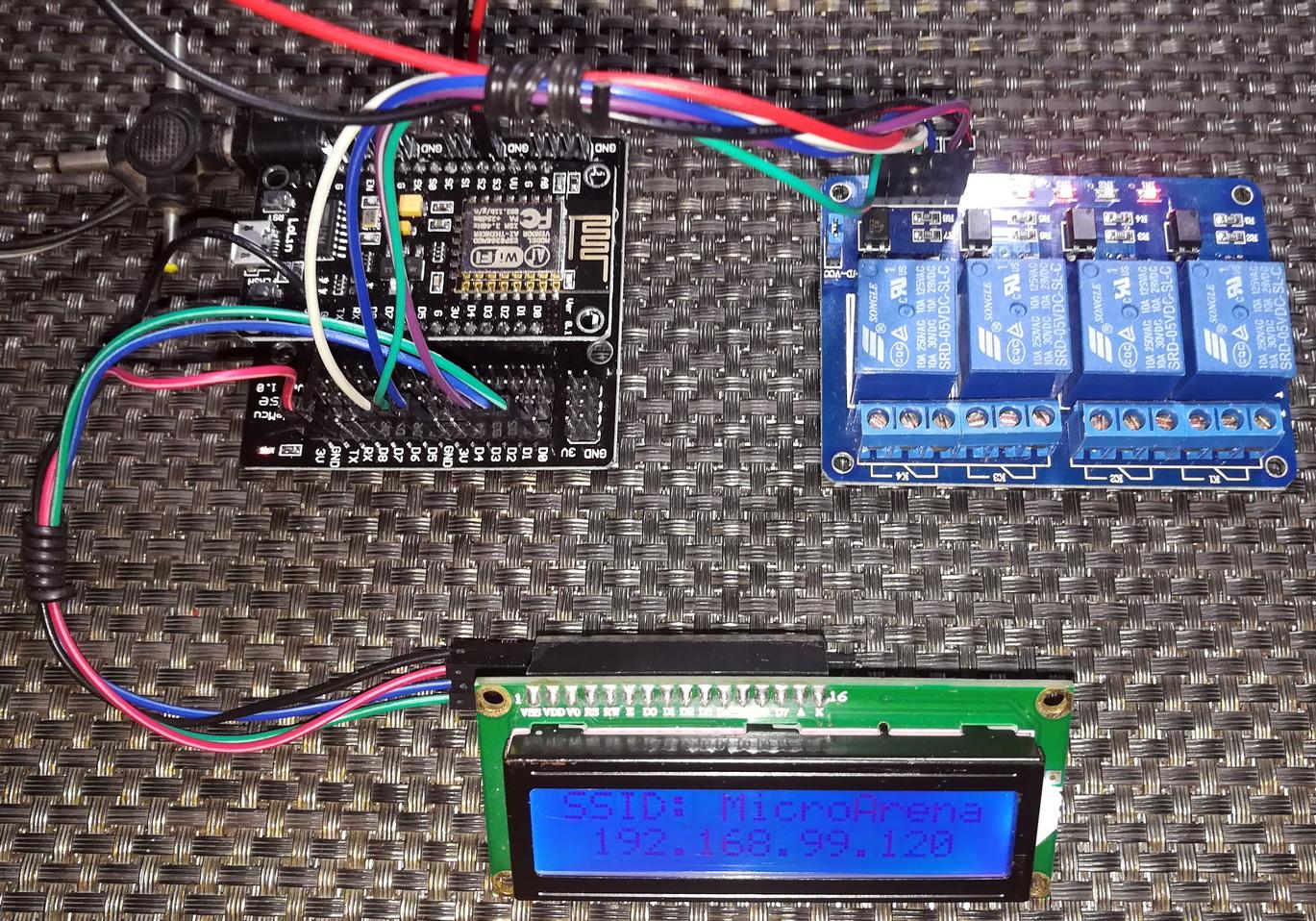 LibStock - NodeMCU (ESP8266) WiFi Relay Control