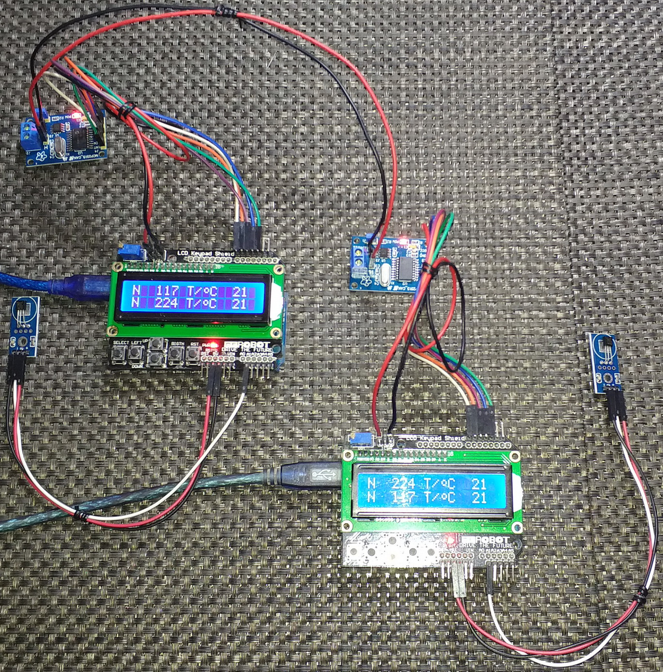 LibStock - MCP2510/MCP2515 CAN Demo with AVR Microcontrollers