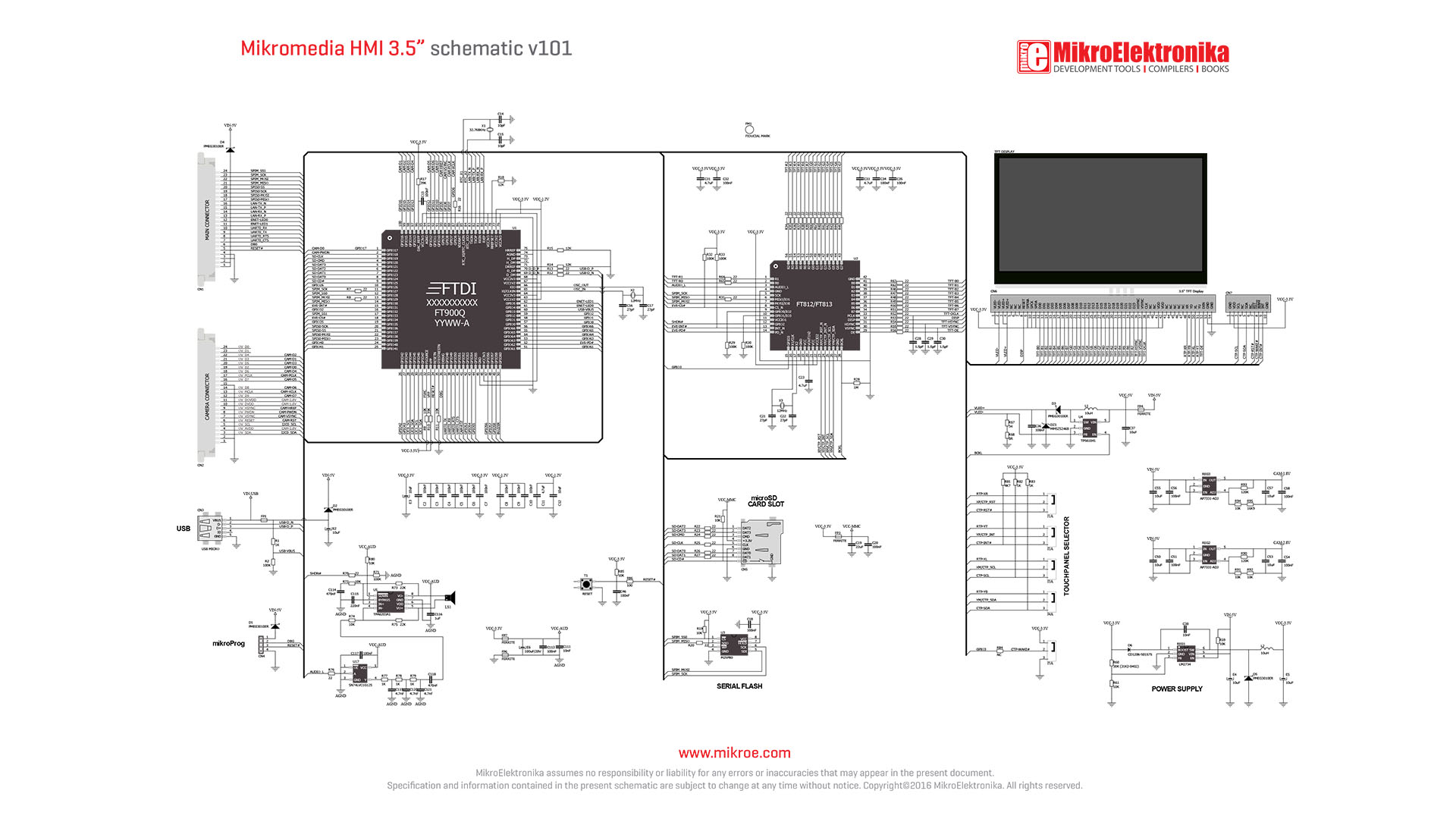 libstock mikromedia hmi example rh libstock mikroe com Simple Wiring Diagrams Light Switch Wiring Diagram