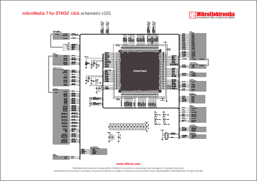 LibStock - mikromedia 7 for STM32F7