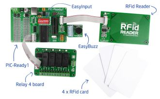 Figure 1 - Your own RFid Lock set