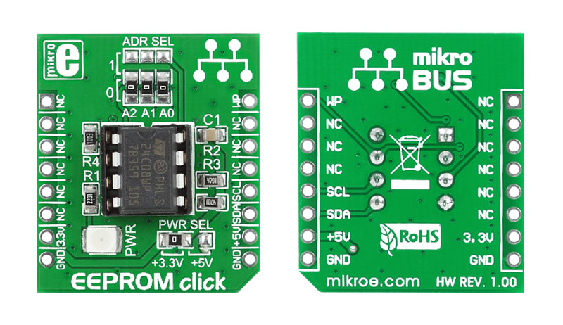 LibStock - EEPROM click - Example