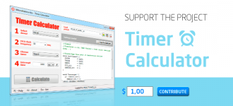 Support The Timer Calculator Project