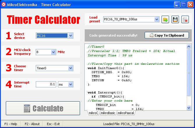 Avr pwm calculator