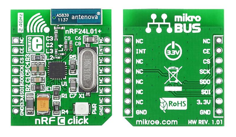 LibStock - nRF C click - Example
