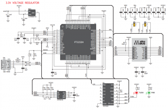 click USB adapter Schematic