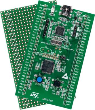 LibStock - STM32F0Discovery Examples