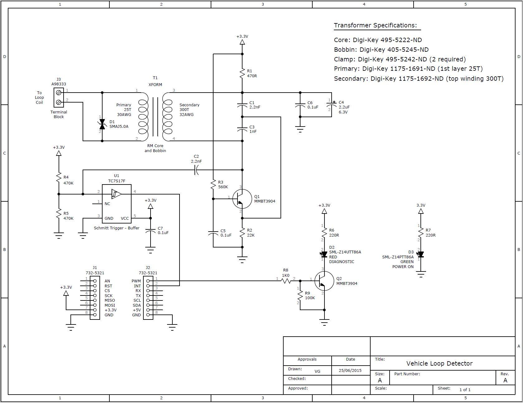 Schematic of Loop Oscillator