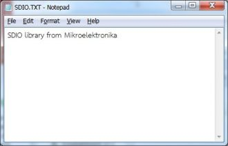 LibStock - FAT32 using SDIO Library