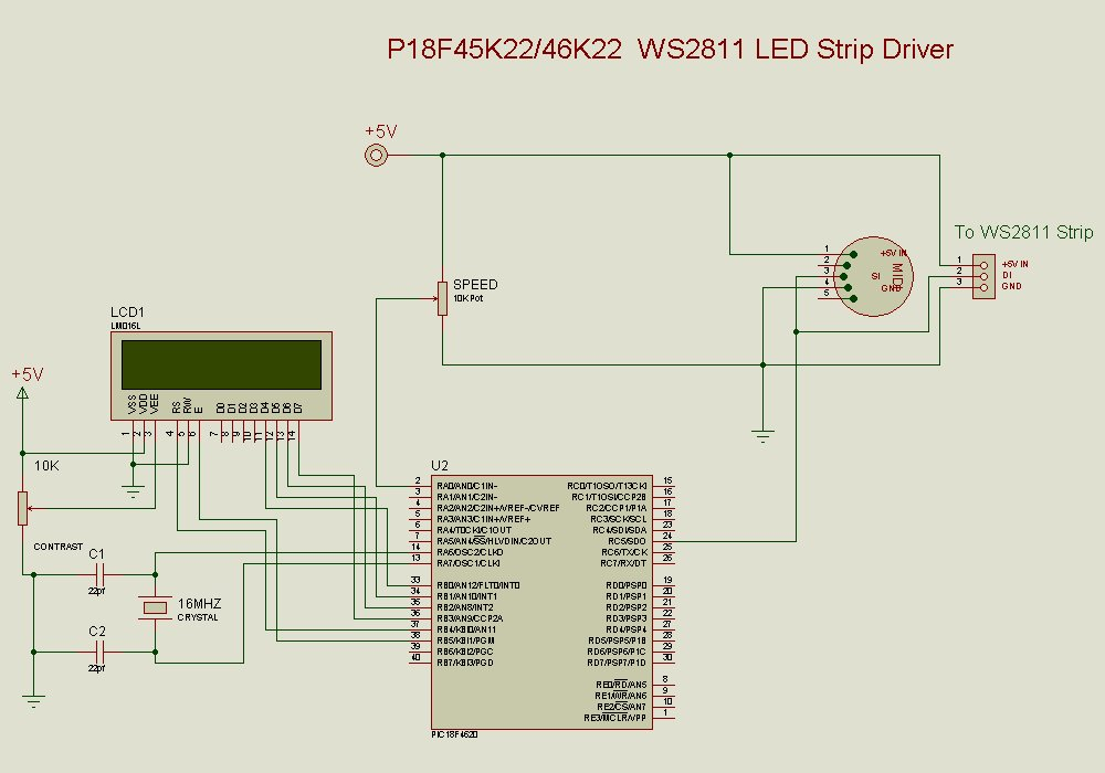 LibStock - WS 2811 / WS2812 LED Strip Driver