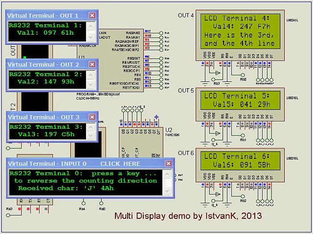 LibStock - My libraries 1 (more LCD, more Sw Uart)