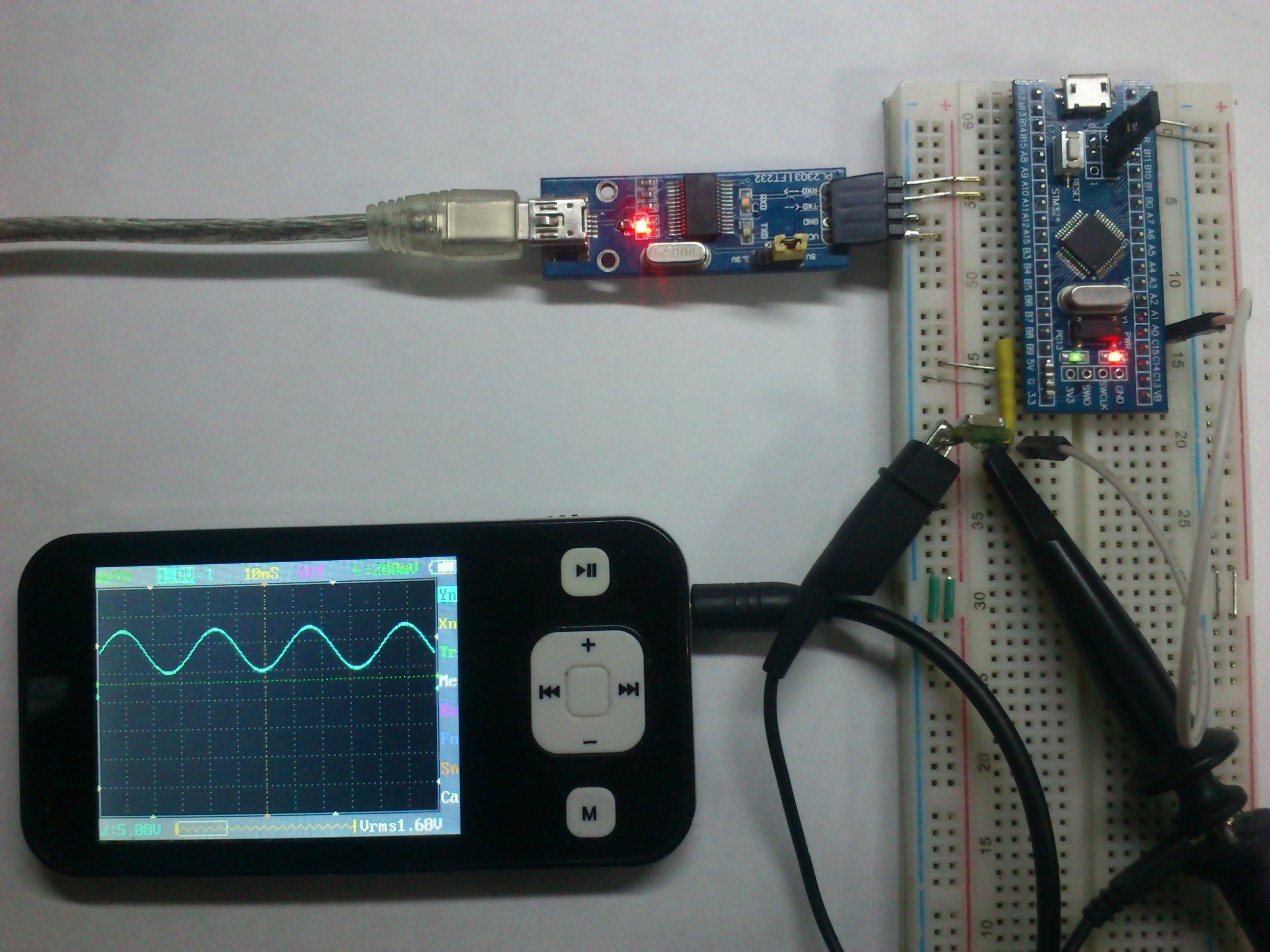 Stm32f4 Fft Example